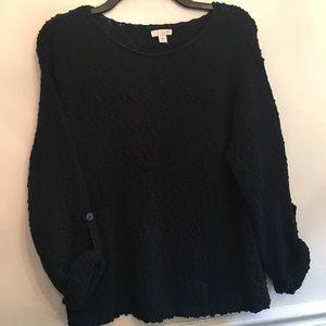 J Jill Navy Blue Sweater